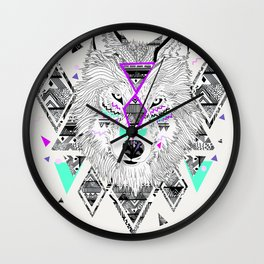 HONIAHAKA by Kyle Naylor and Kris Tate Wall Clock