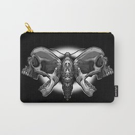 Death's Ahead - Grayscale Carry-All Pouch