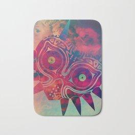 Watercolored Majora's Mask Bath Mat
