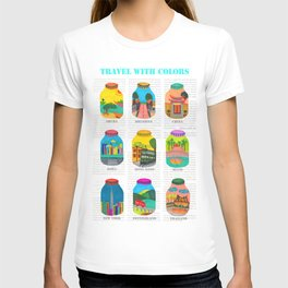 Travel with Colors T-shirt
