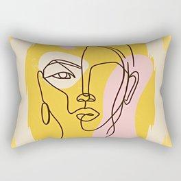 Yellow Me Rectangular Pillow