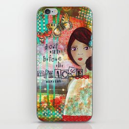 Don't Quit iPhone Skin