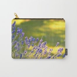 PRETTY LAVENDER GLOWS IN THE SUNSHINE IN THE GARDEN Carry-All Pouch