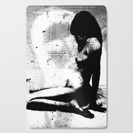 Nude Art Jesus Cutting Board