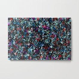 paint drop design - abstract spray paint drops 4 Metal Print