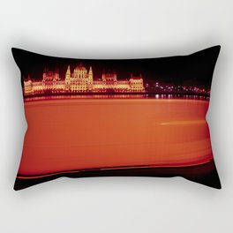 Red Flash Rectangular Pillow