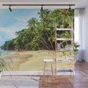 Tropical Beach - Landscape Nature Photography by staypositivedesign