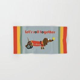 let's roll together Hand & Bath Towel