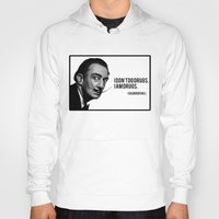 salvador dali Hoodies featuring Salvador Dali by Pancho the Macho