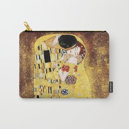 The Kiss with Painterly Effect Carry-All Pouch