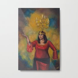 Sarab with Shamadan Metal Print