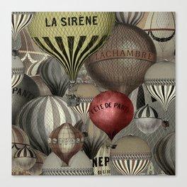 Les Balons I Canvas Print