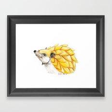 The Battle Hedgehog Framed Art Print
