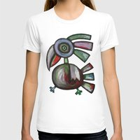 parrot T-shirts featuring Parrot by Rudolf Brancovsky