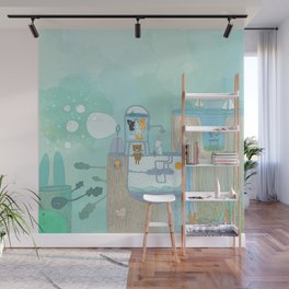Happy Creatures Wall Mural