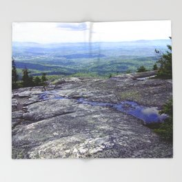 Reflection Point Throw Blanket