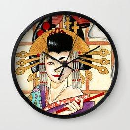 Oiran Wall Clock