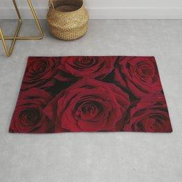 Ruby Roses Rug