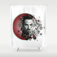 dale cooper Shower Curtains featuring Bradley Cooper by Rene Alberto