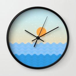 Summer Soul Wall Clock