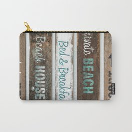 Beach Signs Carry-All Pouch