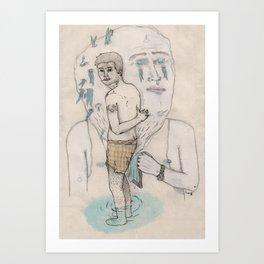 Toalla Art Print