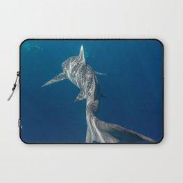 Peaceful Lemon Shark Laptop Sleeve