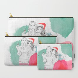 Christmas Illustrations Carry-All Pouch