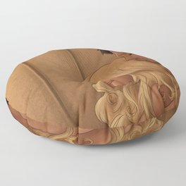A Proper Date Floor Pillow