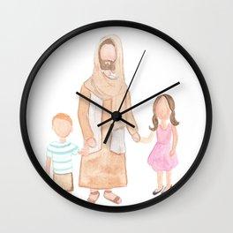 Jesus with Children Wall Clock