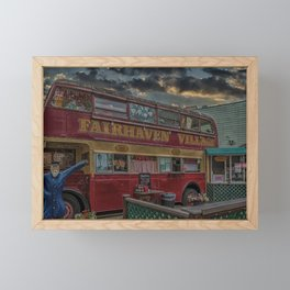 Fairhaven Fish and Chips Framed Mini Art Print