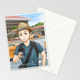 Backpack Sir Sir at Taipei Main Station Stationery Cards