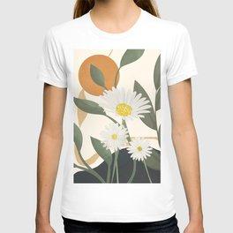 Colorful Flower Design 6 T-shirt