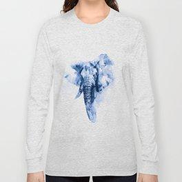 Elephant Painting Long Sleeve T-shirt