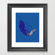 Falling dreams  Framed Art Print