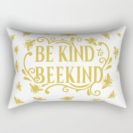 Be Kind to Beekind - Save the Bees Rectangular Pillow