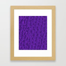 Purple Eft Framed Art Print