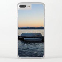 Burlington, Vermont Vibes Clear iPhone Case