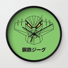 Kotetsu Jeeg (Steel Jeeg) - Outline version Wall Clock