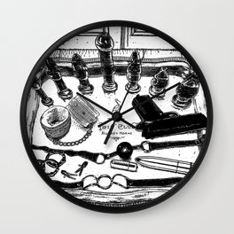 asc 572 - Weapons of class distraction Wall Clock