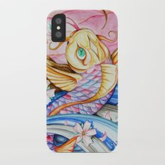 Watercolor Koi Fish Slim Case iPhone X