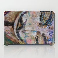 anonymous iPad Cases featuring Anonymous by Michael Creese