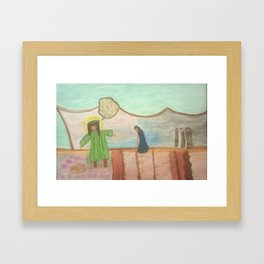 Bible Story Joseph and His Coat Framed Art Print