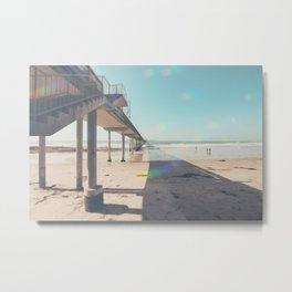 Scripps Pier Ocean Beach San Diego Metal Print