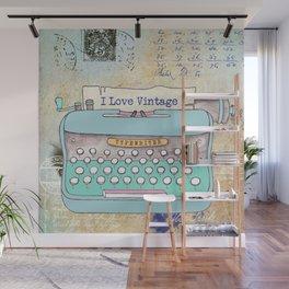 Typewriter #3 Wall Mural