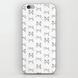 Kitty Whiskers iPhone Skin