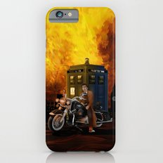 10th Doctor who with Big Motorcycle iPhone 6s Slim Case