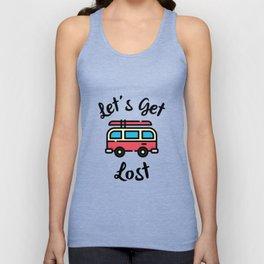 Let's Get Lost Unisex Tank Top