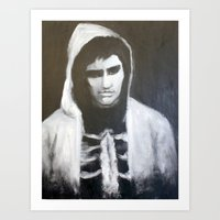 donnie darko Art Prints featuring Donnie Darko by Alexandra Booten