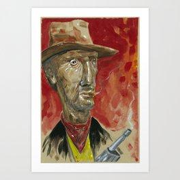 Lucky Luke Art Print